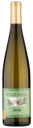 2016 Willow Springs Columbia Valley, Washington Riesling