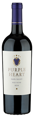 2014 Purple Heart Napa Valley California Red Wine
