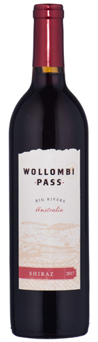 2018 Wollombi Pass Big Rivers, Australia Shiraz
