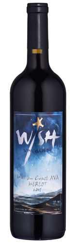 2015 Wish Vineyards Malibu Coast California Merlot