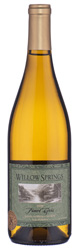 2019 Willow Springs Cellars Santa Barbara County, California Pinot Gris