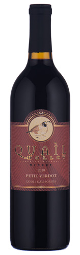 2018 Quail Hollow Lodi, California Petit Verdot
