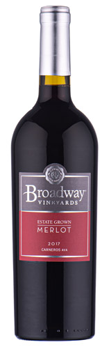 2017 Broadway Vineyards Carneros 'Estate Grown' Merlot