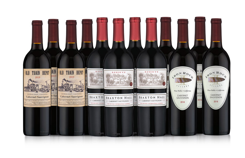Distinctive California Cabernets 12-Bottle Collection