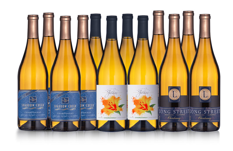 Crowd-Pleasing Chardonnay 12-Bottle Collection